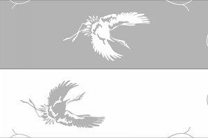 Пескоструйная рисунки - птицы