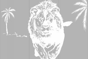 Пескоструйные рисунки - животные