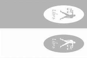 Пескоструйные рисунки - знаки зодиака